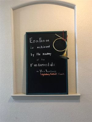 Quote Board at The Hummel Studio