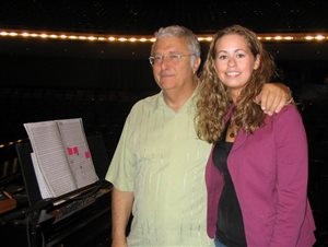 Randy Newman and Lisa Hummel
